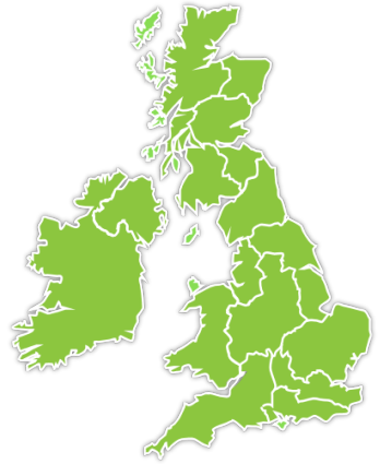 UK Area Map